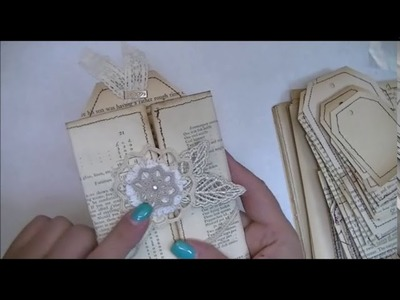 Vintage card Tutorial & more pocket ideas!!