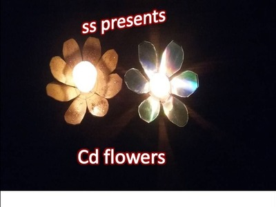 CD  Diwali  decoration ideas for diya.Room decoration