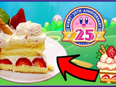 Cuccos Kitchen | How To Make Kirby's Strawberry Shortcake