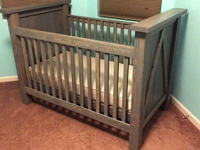 DIY Custom Baby Crib Build | Timelapse
