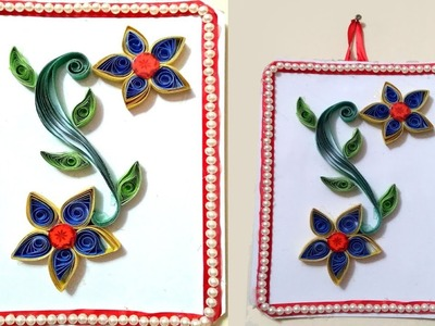 DIY Easy Paper Quilling Wall Hangers for Room Decoration | Paper Quilling Art | Colour Paper Crafts