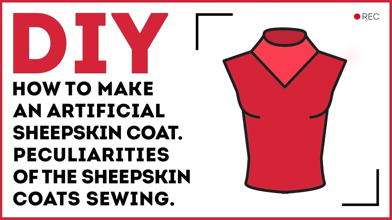 DIY: How to make an unusual stand collar for the warm clothes. Sewing tutorial.
