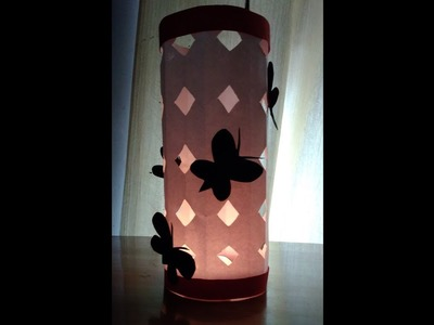 DIY lamp (diwali special) - learn how to make a paper lampshade