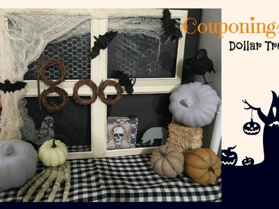 DOLLAR TREE FARMHOUSE HALLOWEEN DECOR DIY