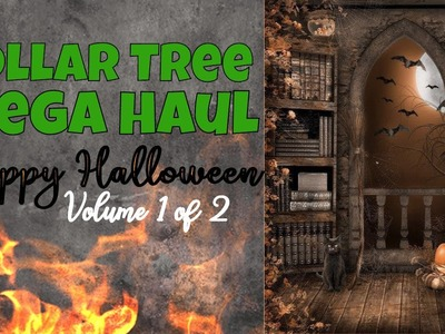 Dollar Tree MASSIVE HAUL:  ALL ABOUT HALLOWEEN!  PART 1 of 2