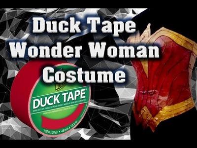 Duck Tape Wonder Woman Costume (Part 1)