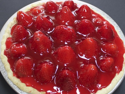 Fresh Strawberry Pie with Michael's Home Cooking
