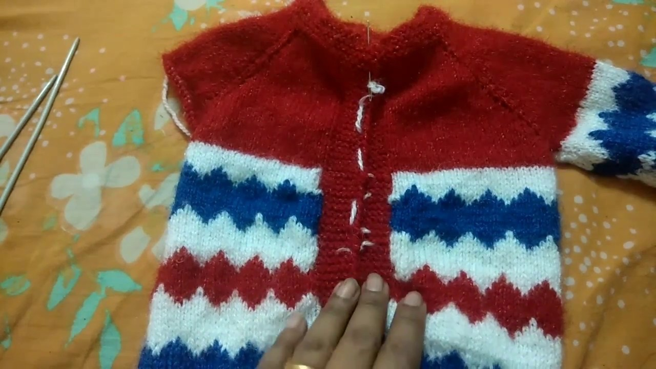 Gale se sure hone wala one piace baby sweater in hindi part  2