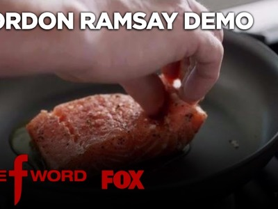 Gordon Ramsay Demonstrates How To Cook The Perfect Alaskan King Salmon | Season 1 Ep. 1 | THE F WORD