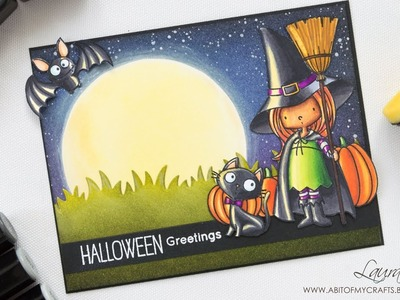 Halloween 2017 Card Making Series - Moonlit Halloween Scene | Witch Way is the Candy | FULL VIDEO