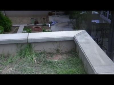 How I make concrete wall caps (Mike Haduck)