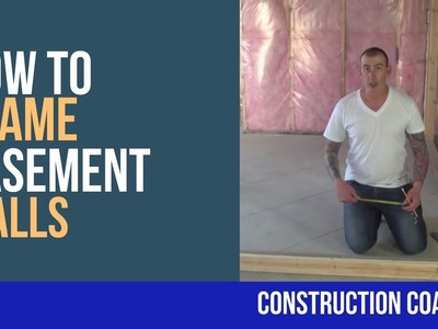 How to Frame Basement Walls - DIY