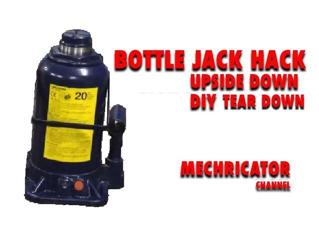 How to make a Bottle Jack work upside down