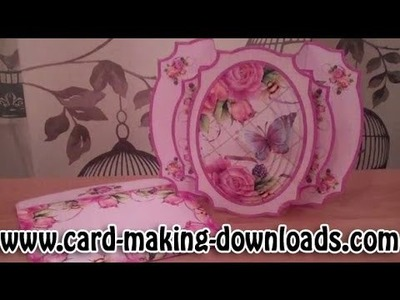 How To Make A Double Pop Out Card www card making downloads com