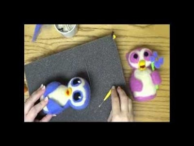 How to Make a Needle Felted Owl Workshop