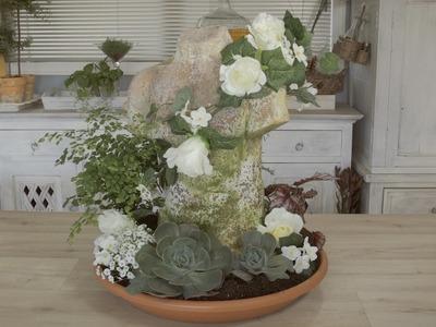 How to make a Pot-et-Fleur Floral Design: Rustic Italian Bust