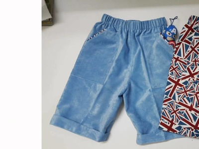 How to make a shorts for boy