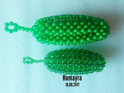 How to make beaded cucumber. পুতির শশা. beaded vegetable 7