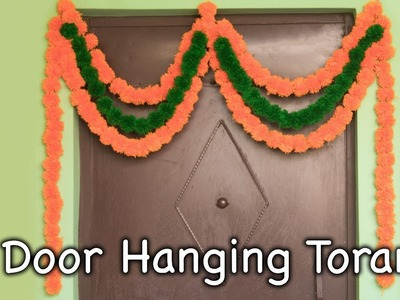 How to Make Door Hanging Torans. Decorative Wall Hangings from Pom Poms - By Arti Singh
