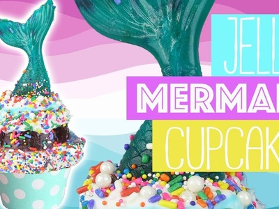 How To Make Jello Mermaid Tail Cupcakes | Food Hacks For Kids | Kids Cooking and Crafts
