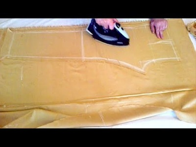How To Make Straight Pants | Measurement And Cutting | MATV
