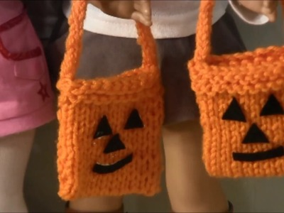 How to Make Trick or Treat Bags for American Girl Doll