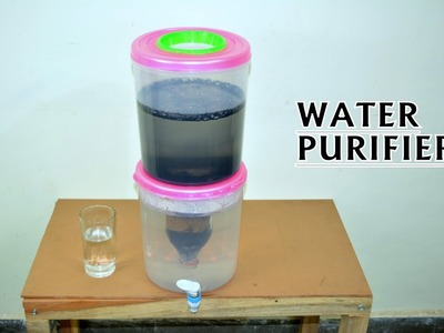 How to Make Water Purifier at Home - Easy Way