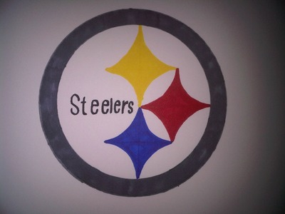 LAST OF NFL - How to Draw the Pittsburgh Steelers logo