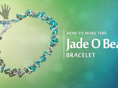 Left-handed ★ How to make this Jade O Bead Bracelet | Seed Beads Tutorial
