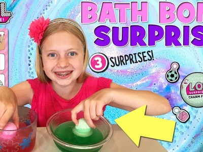 LOL Surprise Charm Bath Bomb Fizz!!!