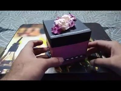 Make a beautiful EXPLOSION BOX.