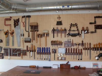 """Making of the """"Mother of all Toolboards"""" (Tool Board. Tool Wall. Tool Rack)"""