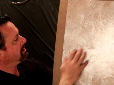 Modern master venetian plaster technique