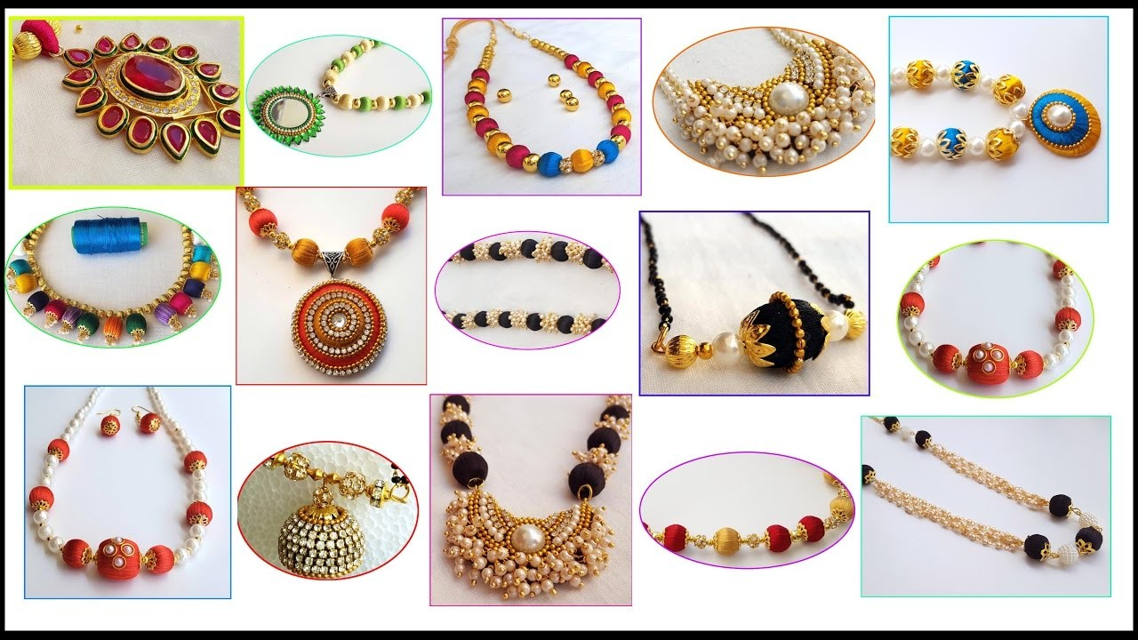 My over all latest Necklace Collection