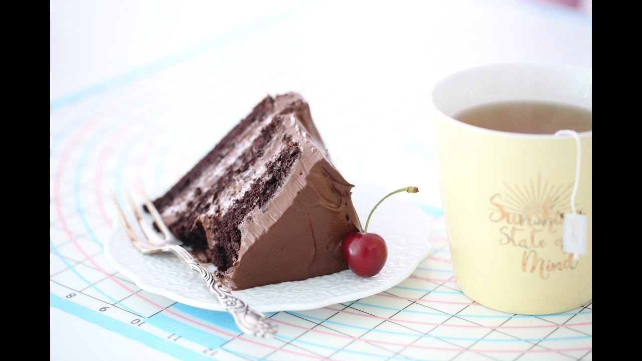 OLD-FASHIONED CHOCOLATE CAKE -HOW TO VIDEO
