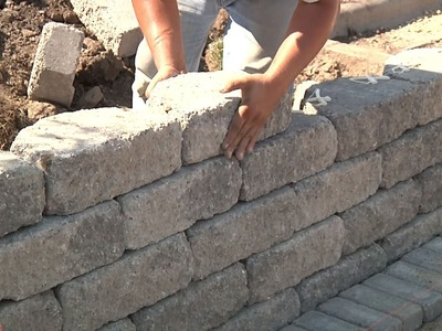 Retaining Wall - How To Build - Menards