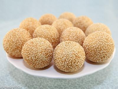 Sesame Balls Part 2:  Making the Dough (Banh Cam)