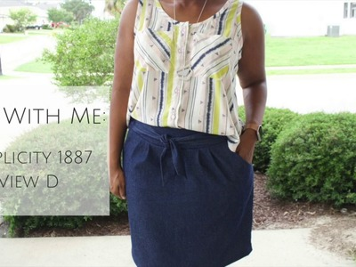 Sew With Me: Simplicity 1887 View D