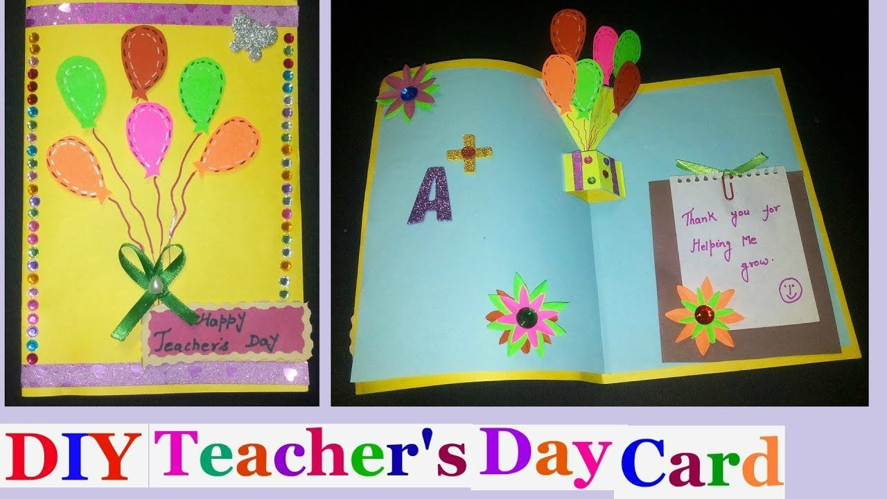Teachers day pop up cards teachers day pop up card making ideas for teachers day pop up cards teachers day pop up card making ideas for kids diy m4hsunfo Image collections