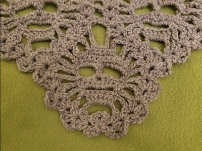 "The ""Lost Souls Skull Shawl"" Pt. 4 Crochet Tutorial"