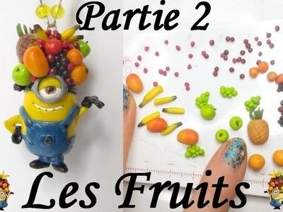 [TUTO FIMO] Le Minion Fruité - Partie 2: Les Fruits