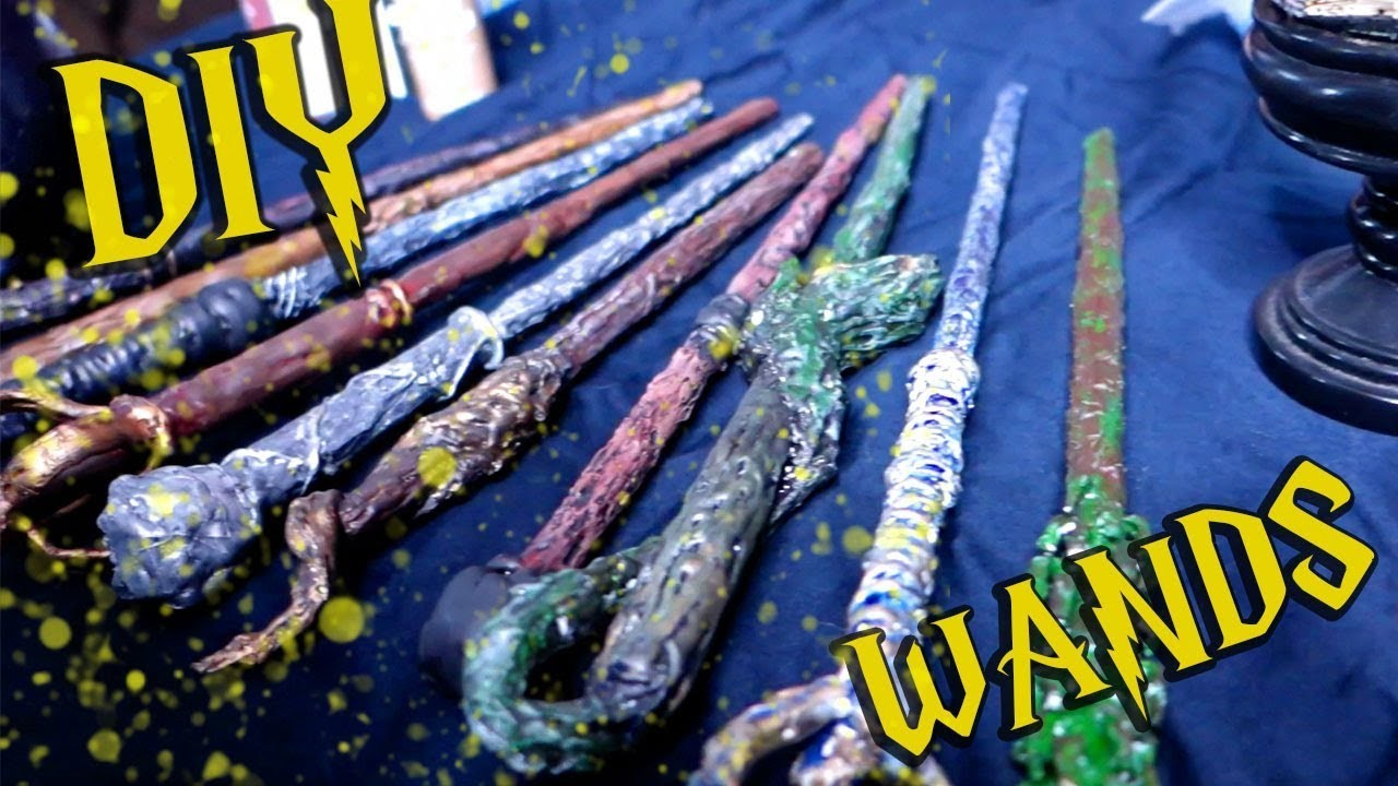 Ultimate DIY Harry Potter Wand Tutorial - Cosplay with Chris