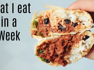 What I Eat in a Week. Vegan #2