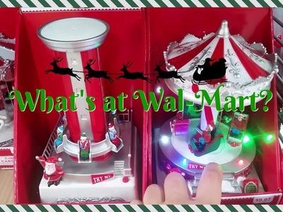 What's at Wal-Mart? Christmas 2017!