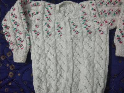 1 sal k baby ka front open sweater in hindi