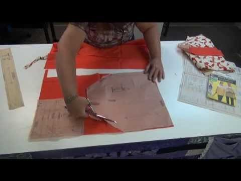 Apron Sew-A-Long with Learn2SewFlorida Episode 2 - Cutting the Fabric