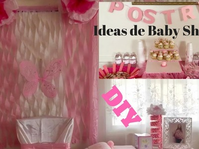 Baby shower ideas DIY decorations for a baby girl! ideas para baby shower (Niña)