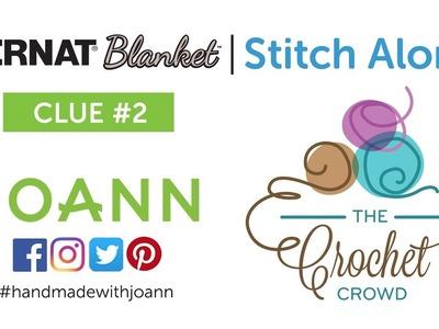 Bernat Blanket Stitch Along: Week 2 Left Hand