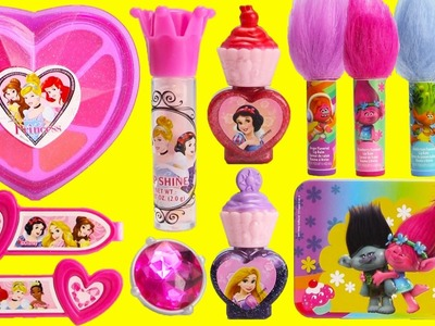 Disney Princess Beauty Kit Lip Balms and LOL Doll Surprises