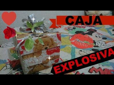 DIY: !! CAJA EXPLOSIVA DE CONFETI !! | SAN VALENTIN ❤
